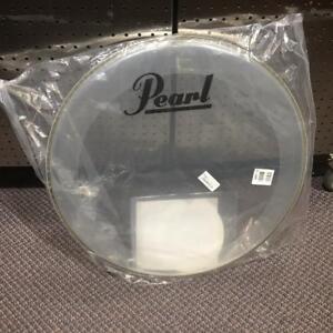 Pearl Peau de bass drum transparente 22 - P31122-pl neuve