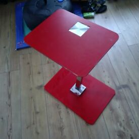 Red Laptop Table