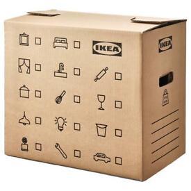 Free IKEA Moving Boxes