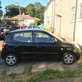 2008 KIA Picanto Chill BLACK 1.1 litre, 5 door and in very good condition!