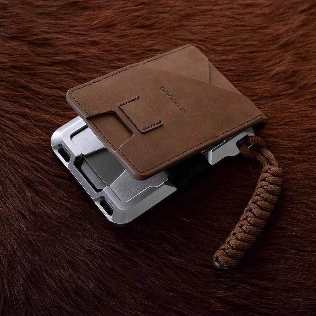 m1 maverick tactical wallet raw leather single