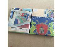 2x brand new junior bed duvets