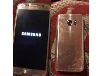 SAMSUNG S7 GOLD PLATINUM 32GB