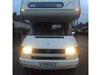vw transporter t4 2.4 diesel 1994 5 berth imaculate