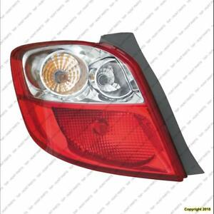 Tail Lamp Driver Side High Quality Toyota Matrix 2009-2013