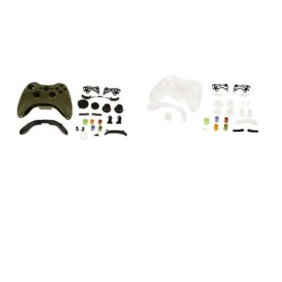 2 Set Wireless Controller Shell Full Button Housing Case Cover for Xbox 360 for sale  Shipping to Canada
