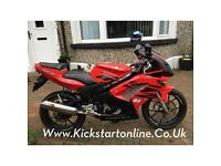 Rieju rs125 matrix 2006 motd very clean £1150