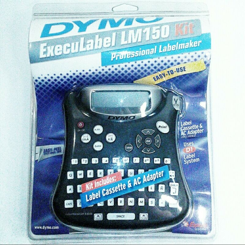 NEW AND SEALED Dymo Execulabel LM 150 Kit Professional Labelmaker Easy to Use.