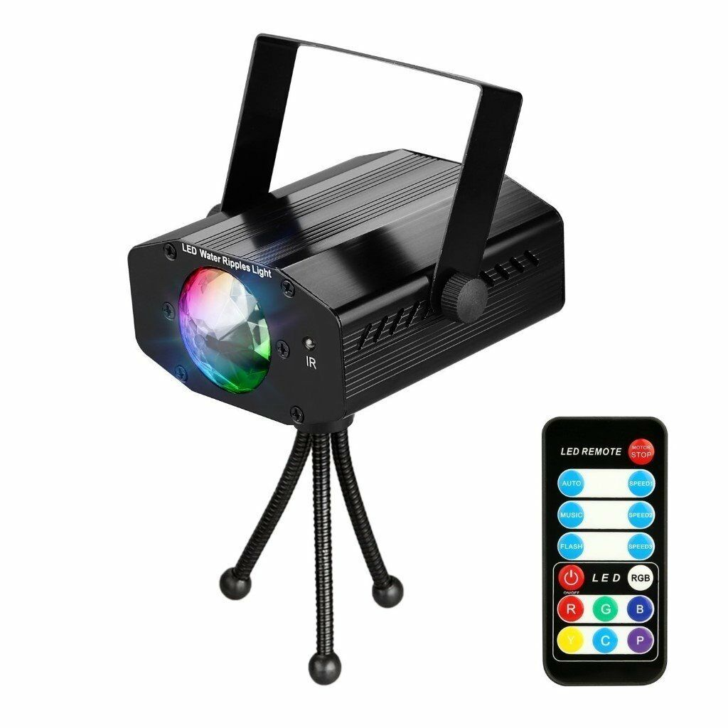 Disco Lights Party Dj Light with Remote Control for Home, Parties ...