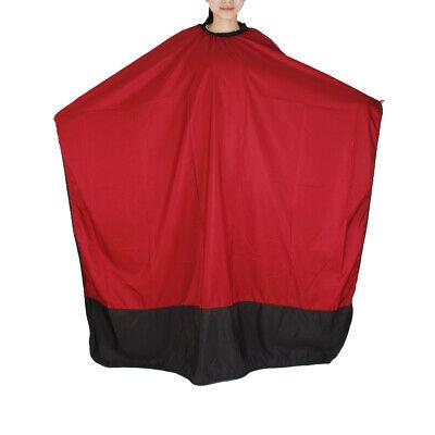 rot Färbeschürze Haarschneideumhang Friseurumhang Färbeumhang für Erwachsene ()