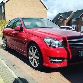 **2011 Mercedes C250 semi auto panoramic roof leather amg sport sat nav C180 C200 C220 C63