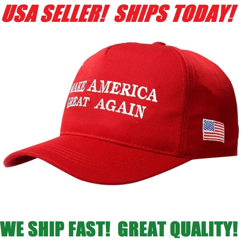 MAKE AMERICA GREAT AGAIN HAT 2020 DONALD TRUMP CAMPAIGN REPUBLICAN RED CAP Collectibles