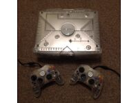 Original XBOX Crystal Limited Edition with 2 Controllers and 9 games