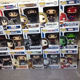 Brand new Funko pop figures ..collection from eaglestone Milton Keynes