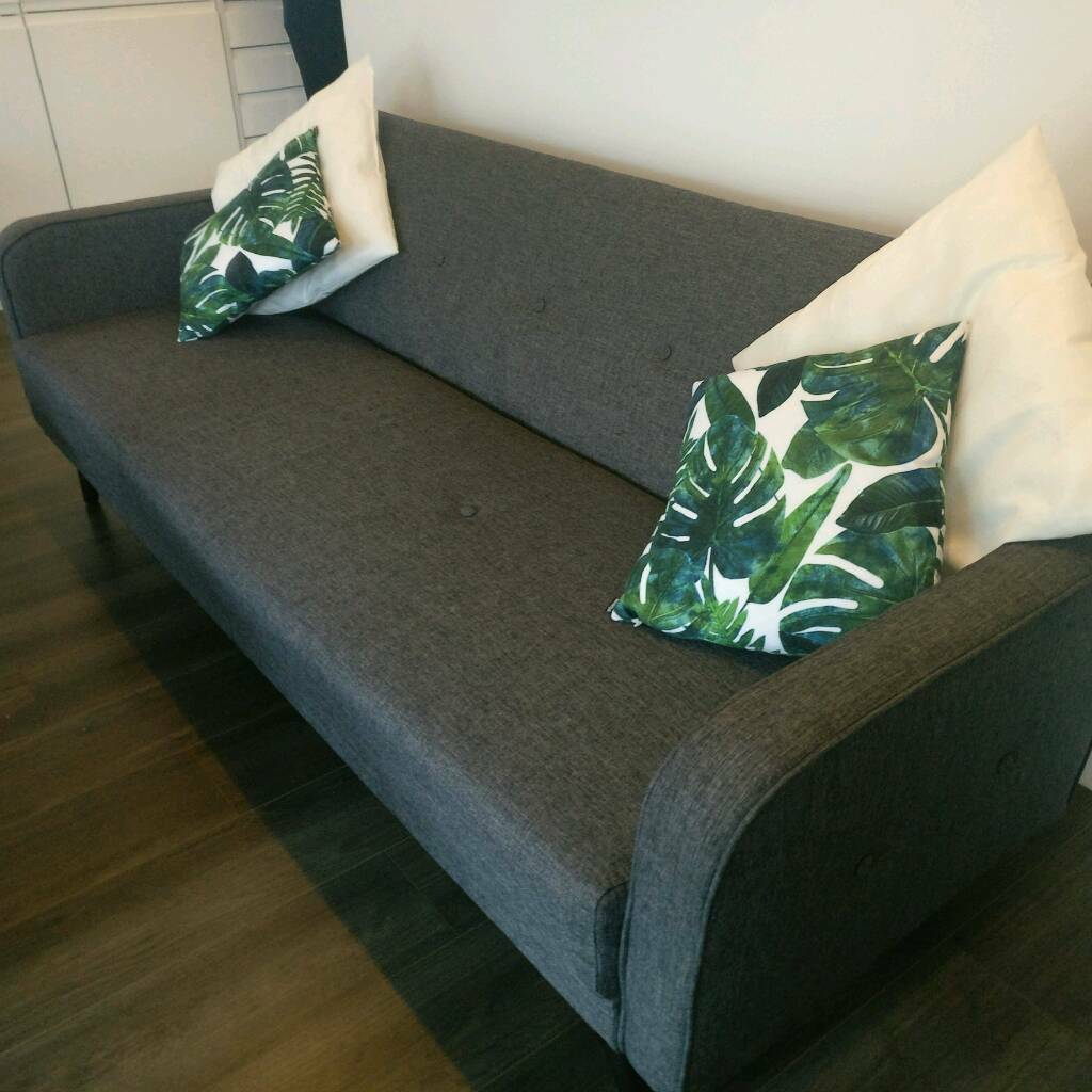 SOLD: John Lewis sofa bed 3 seater great condition