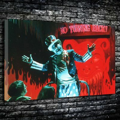 Devils Rejects Printed Box Canvas Picture Multiple Sizes (Captain Spalding)