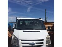 2007new shape transit tipper