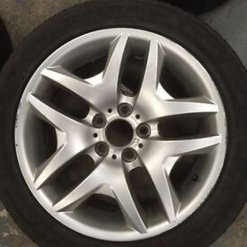 """Bmw x3 Alloy Wheels 18"""" from M-Sport"""