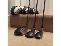 Taylormade SLDR driver, 3 wood and recovery