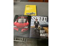 3 books on Cars,Supercars and Speed.