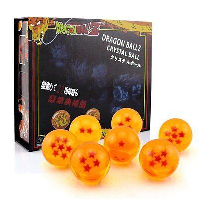 Pack 7 Bälle Dragon Ball Z.Durchmesser 42mm. Im Etui Geschenk (Dragon Ball Z Bälle)
