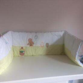 Mamas and Papas Nursery Bedding/cot Bundle