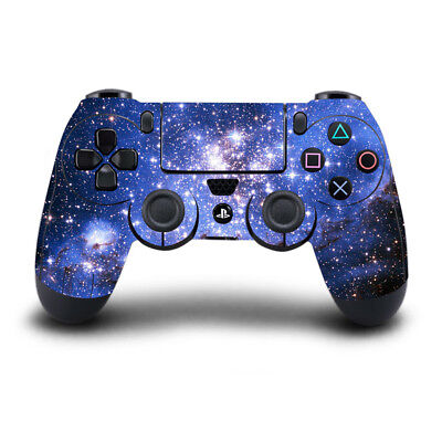 Skin Sticker Wrap for PS4 Playstation 4 Remote Controller Decal Starry Sky