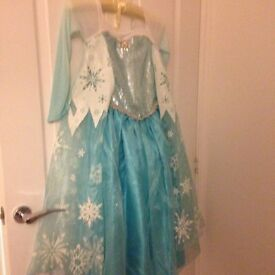 Disney Cinderella and elsa dress up costume, both from Disney store. Really good condition