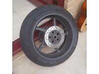 Yamaha R1 14b Wheel and Tyre set.