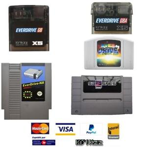 Everdrive NES SNES N64 Gameboy Color Advance