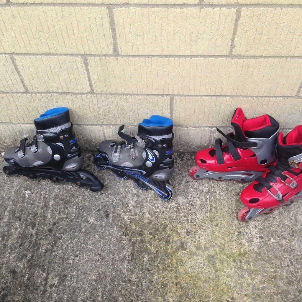 Two pairs inline Skates