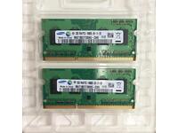 Samsung 4GB (2x2GB) Laptop/Notebook Memory - M471B5773DH0-CH9 PC3-10600S-09-11-B2