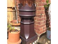 Reclaimed Chimney Pots x2 for sale