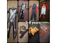 Various childrens costumes