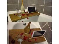 Bath tablet holder.