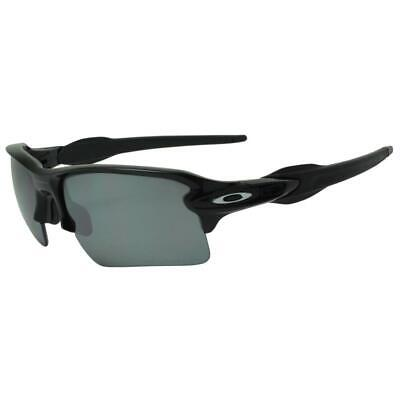 Oakley OO 9188-08 Polarized Flak 2.0 XL Polished Black Iridium Sports Sunglasses