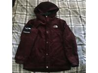 Supreme x The North Face TNF Burgundy Corduroy Coat Small