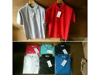 Mens Lacoste polos