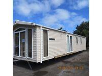 Swift caravan 37x12 2 bedrooms double glazing central heating