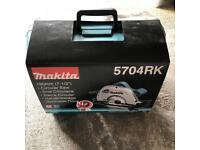 Brand new 240v makita circular saw