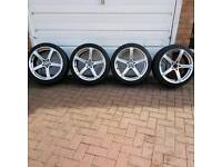 Tyres and Wheel Alloys
