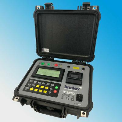 Tinsley Ins-6005 5kv Digital Insulation Tester 5kv Megohmmeter Megger 5000v