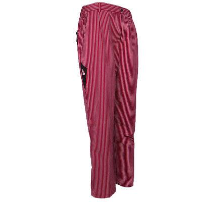 Professional Unisex Chef Trousers Kitchen Catering Cook Waiter Pants Uniform