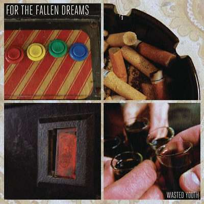 For The Fallen Dreams  Wasted Youth Import  Explicit Lyrics Audio Cd