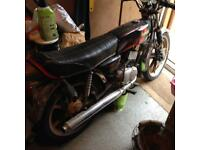 Yamaha rd 50m very rare bike