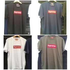 49e4f9548d25 Supreme T Shirt ALL COLOURS SIZES tee not givenchy Fendi Valentino moncler  stone island Gucci