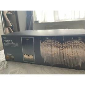 Next GRETA 3 Light chandelier