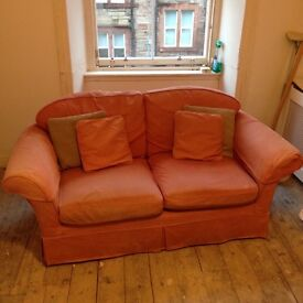 Large 2/3 seater sofa and armchair