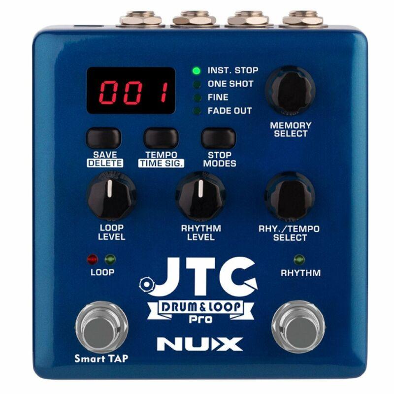 NUX Verdugo Series JTC Drum & Loop PRO Dual Switch Looper Pedal Open Box