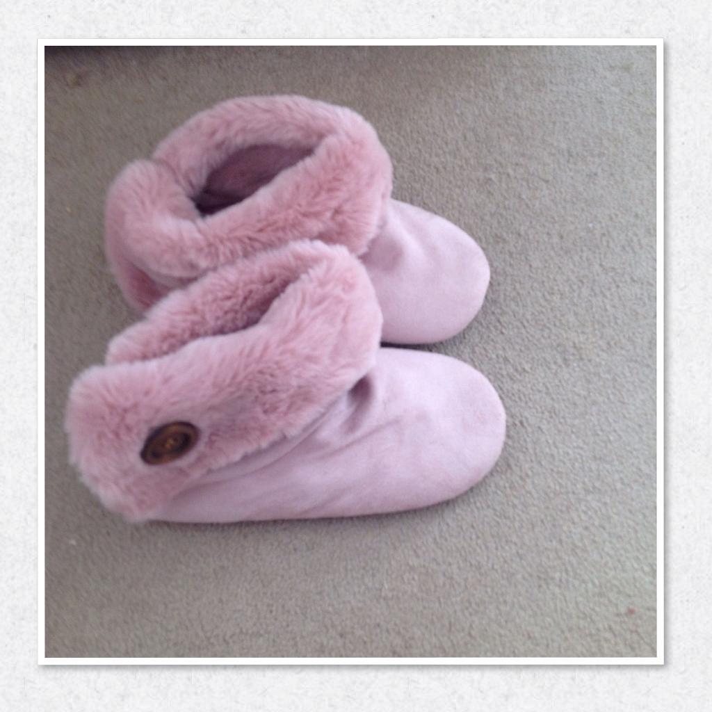 Brand new next slipper bootie.